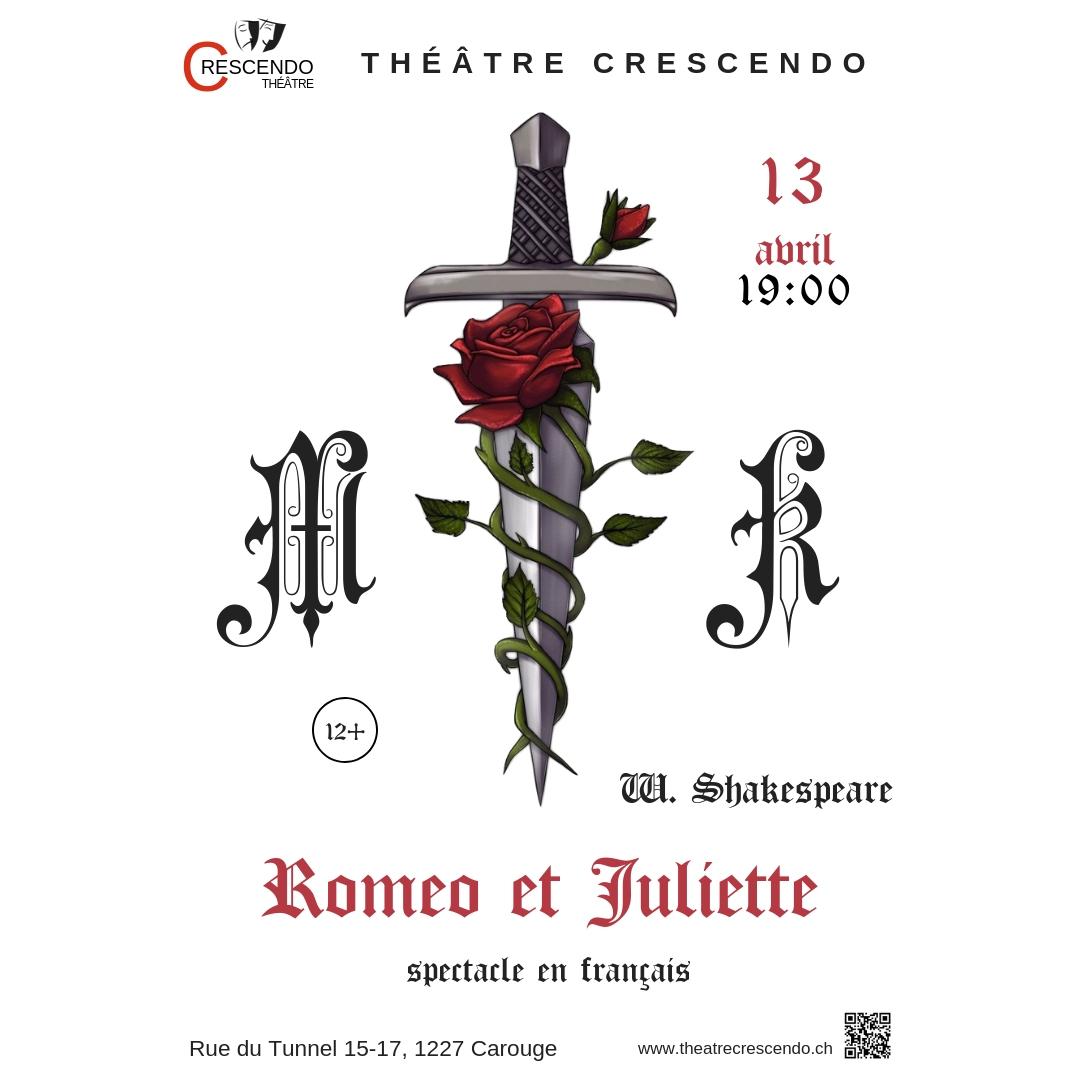 """Спектакль """"Ромео и Джульетта"""" на французском языке"""